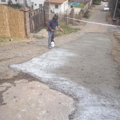 Pavimentación de Camino-