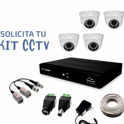 Solicita tu kit CCTV