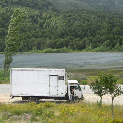 Camión en la 10ª región de Los Lagos