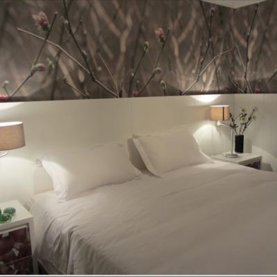 Dormitorio Principal trasera con papel mural