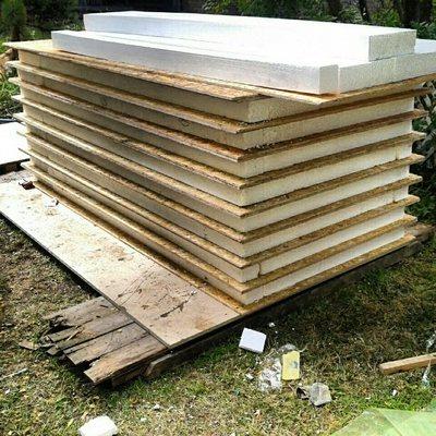 Fabricación de Paneles Sip