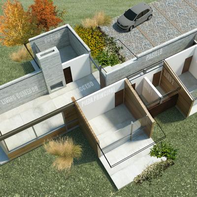 Casa 2L - Distribución