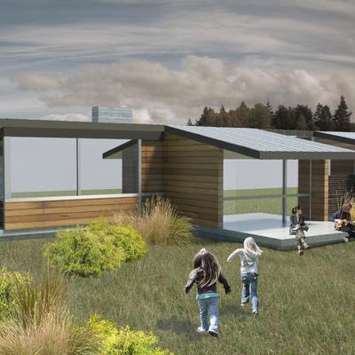 Casa 2L - Vista nor oriente
