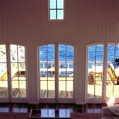 Casa Madera frente al Mar
