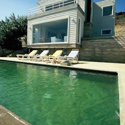 Casa mediterranea con piscina