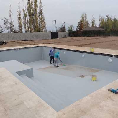 Construcción Casa Pirque III - Pïscina
