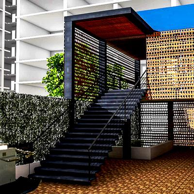 Acceso Oficina. Valparaiso