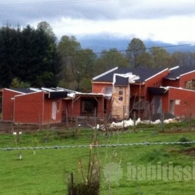 Construcción Casa 200m2 2 Niveles en Parcela Camino Pucón