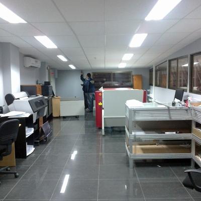 Construcción Oficinas en Parque ENEA - Pudahuel