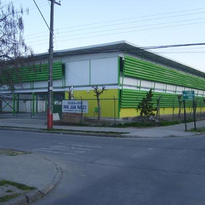 Construcción Colegio Juan Pablo II