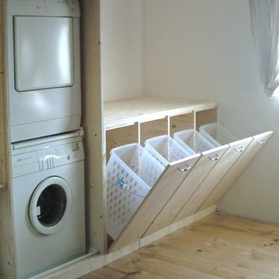 Moderno mueble para lava ropas