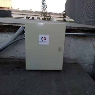 Tablero para controladores sistema termosolar Coca Cola, Maipú