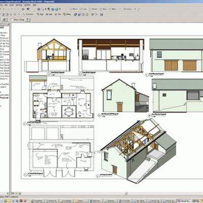 diseño de plano casa
