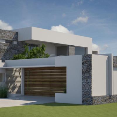 Diseño de vivienda 180 m2