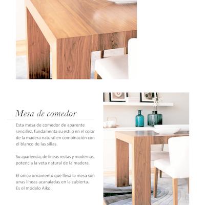 Diseño Mesa Comedor