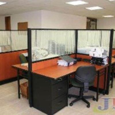 separador cubículos de escritorio