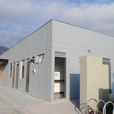 Construcción de estacion de servicio Shell - Antofagasta.