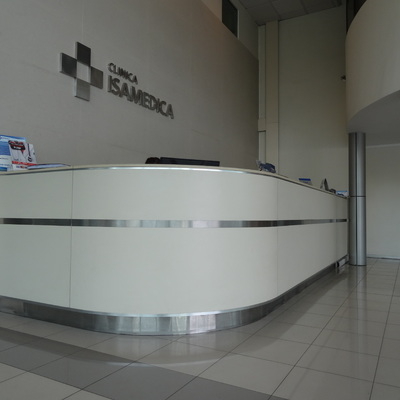 Recepcion clinica isamedica