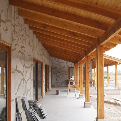 Casa Los Andes - Corredores exteriores
