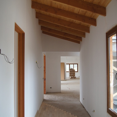 Casa Los Andes - Corredores interiores