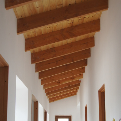 Casa Los Andes - Corredores interiores 2