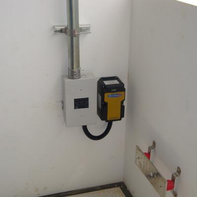 Instalacion de Protector de Armonicos electricos 500v