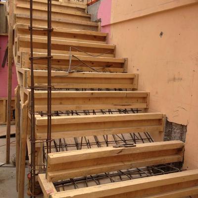 Edificación de escalera