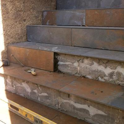 Edificación escalera