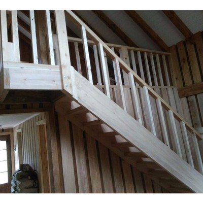 Escalera madera nativa