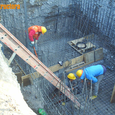 S91 constructora santiago for Estanque de hormigon