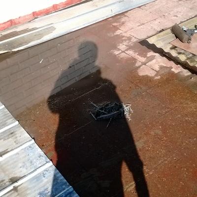 extraccion de techo por filtracion de aguas lluvia