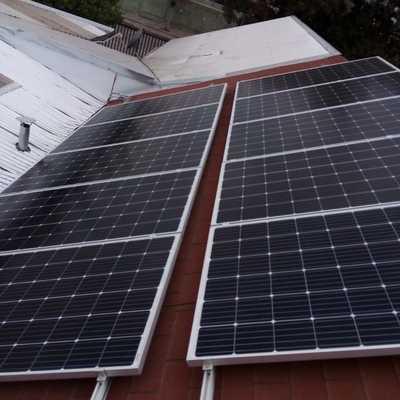 Sistema fotovoltaico Buin