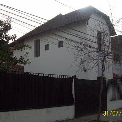 fachada casa patrimonial terminada