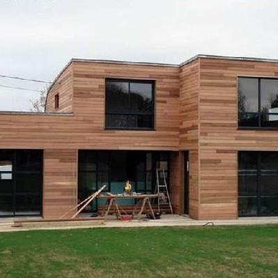 Casa mediterránea madera