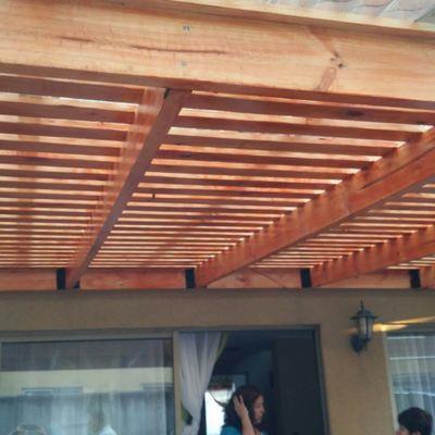 Terraza en madera (Pino)