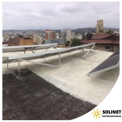 Proyecto realizado en Viña del Mar por Solinet Electricidad Solar ☀️