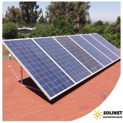 Proyecto realizado en La Florida por Solinet Electricidad Solar ☀️