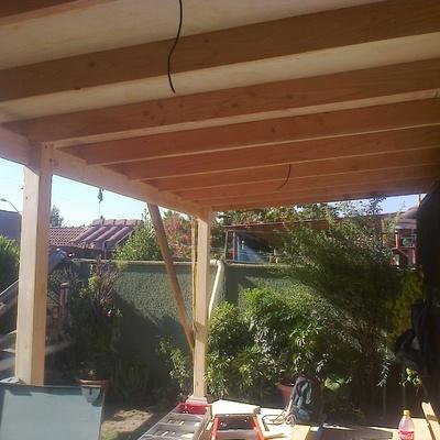 Instalación de Terraza Madera en Casa Particular