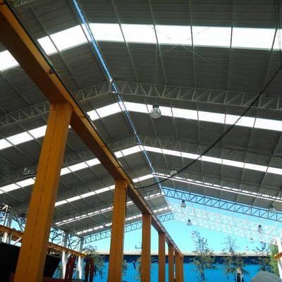 Galpón Industrial - construcción en proceso