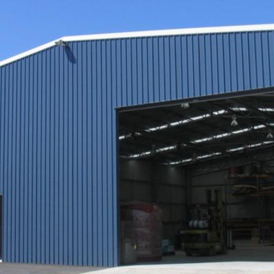 Galpón Industrial - vista exterior