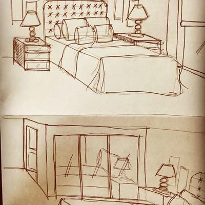 Desarrollo proyecto Dormitorio Espejado