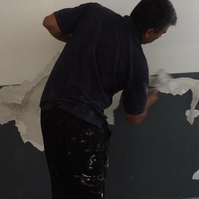 Reparación y Pintura Muros Interior UPLA Viña del Mar