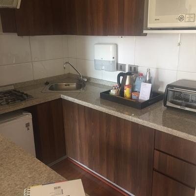 Remodelacion cocina Aparts Hotel Time 2
