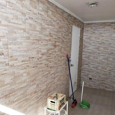 Remodelación de muro con cerámica