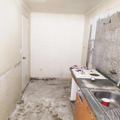 (ANTES) Remodelación de muro con cerámica