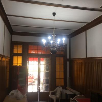 Instalacion de lampara antigua