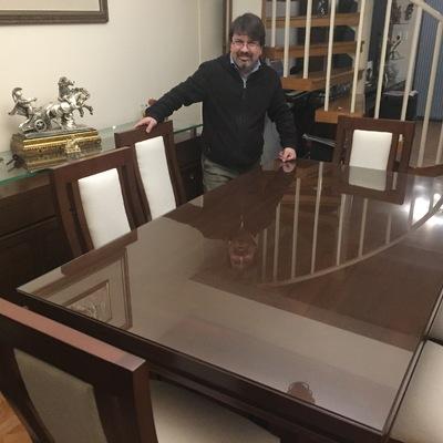 Proyecto Comedor, sillas, buffet