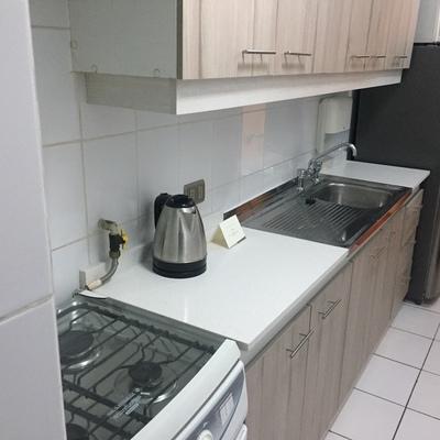 Remodelacion cocina Aparts Hotel Time 3