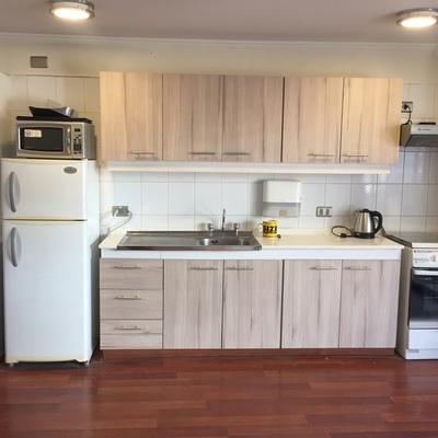 Remodelacion cocina Aparts Hotel Time 4