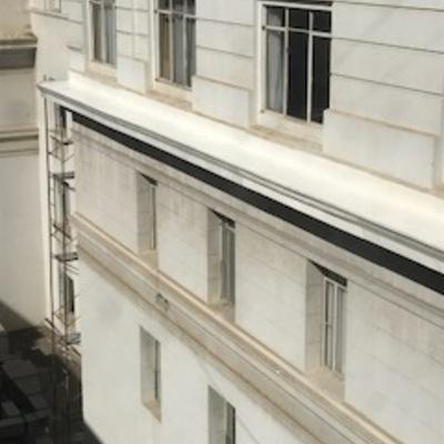 Reparación y Pintura Cornisas Hotel O¨Higgins de Viña del Mar